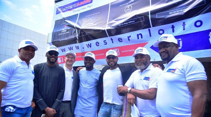 Western Lotto are Paul Obazele, Tuface Idibia, Elvis Krivokuca, AY, ramsey Noauh, Zack Orji and Alex Usifo