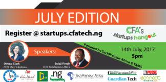 CFA, StartUps Hangout, ITPulse, Technology