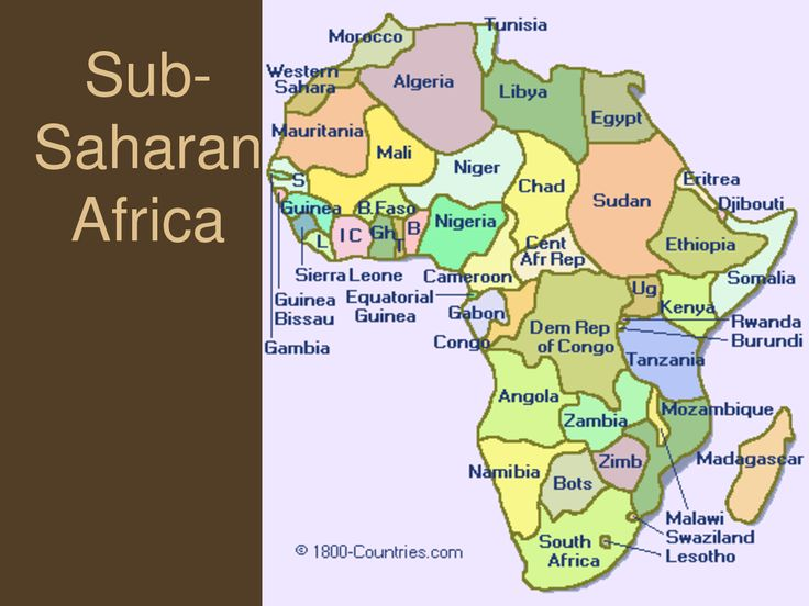 an analysis of the changes happening in the sub saharan africa A new scientific report commissioned by the world bank explores the likely impacts of present day, 2°c and 4°c warming on agricultural production, water resources, coastal ecosystems and cities across sub-saharan africa, south asia based on scientific analysis by the potsdam institute.