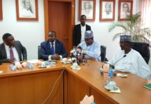 Tony Ojobo, Mr. Sunday Dare, Prof. Umar Danbatta, Hon. Mohammed Musa Bello, NCC, Smart City