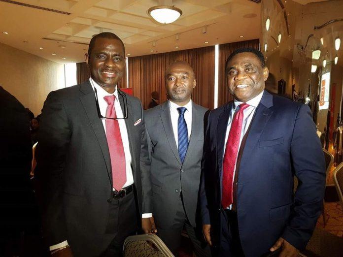 Segun Ogunsanya, Tony Ojobo, Ernest Akinola