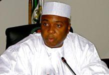 Bukola Saraki, Nigerian Senate, Bayero Agabi