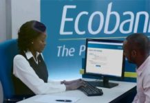 Ecobank, Visa, mVisa, Digital Payment
