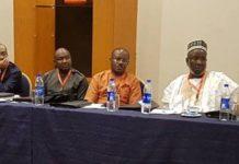 Senators Abiodun Olujimi, Eyinnaya Abaribe, Isa Misau, Gbolahan Dada, Mohammed Shittu, Ademola Adeleke