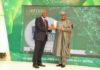 Prof. Umar Danbatta, Dr. Ernest Ndukwe, Award