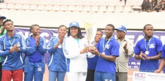 Team Civil Defence , NCC, Lawn tennis, Nigeria