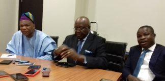 Prof. Eyitope Ogunbodede, Dr. Yemi Ogunbiyi Prof. G. Adesola Aderounmu
