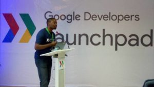 Fola Olatunji, Google, Launchpad accelerator programme