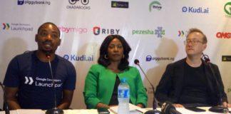 Fola Olatunji, Juliet Ehimuan and Andy