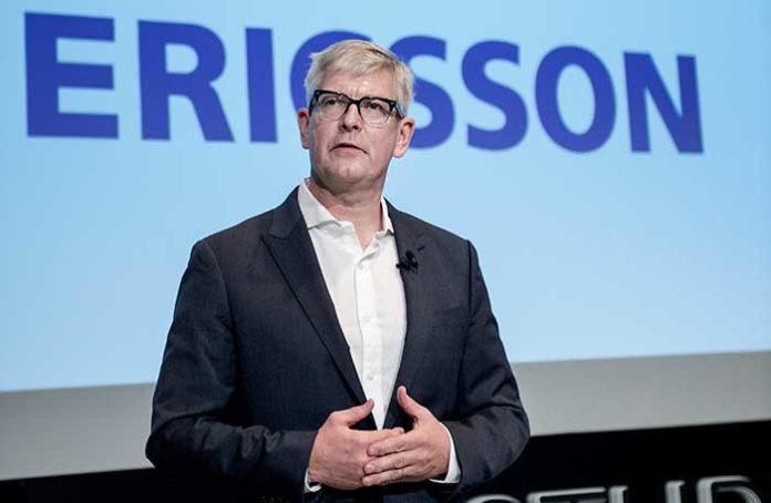 Börje Ekholm , Ericsson