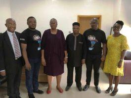 Rt.Hon.Gabriel E. Oiboh, Coderina, Akinniyi Obaide, Mrs. Gladys Idahor, Dr. Adesotu, Mr. Olajide Ademola-Ajayi, Miss Yuwa Naps