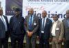 Mr Jimi Awosika, Dr Yemi Ogunbiyi, Professor Eyitope Ogunbodede, Dr Wale Adeagbo, Professor G A Aderounmu, Professor Ndubuisi Ekekwe