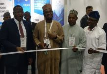 Professor Umar Danbatta, Dr. Isa Pantani, Director-General, Professor Sahalu Junaid, Dr. Vincent Olatunji