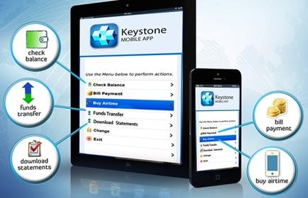 Keystone, Mobile app, CBN
