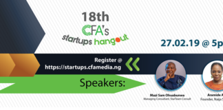 CFA's startup hangout, technology