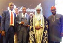 L-r: Samuel Ibiyemi, Ikechukwu Nnamani, Alh. Habib Bello Dankadu, Sanusi Lamido Sanusi, Muda Yusuf