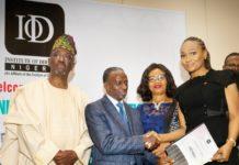 Chief Chris Okunowo, Alhaji Ahmed Rufai Mohammed, Dr. (Mrs) Ije Jidenma