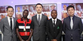 Edison Xieyi, Rasheed Alase, Zhang Lulu, Muhammad Maihaja, Kelvin YangYang