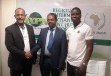 Mr. Rudman Muhammed, Mr. Moses Bayingana, Jacob Dagunduro
