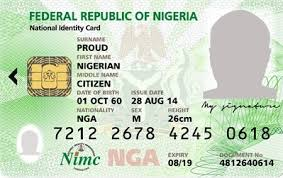 Nigerians in UK and Germany can get their NIN without coming